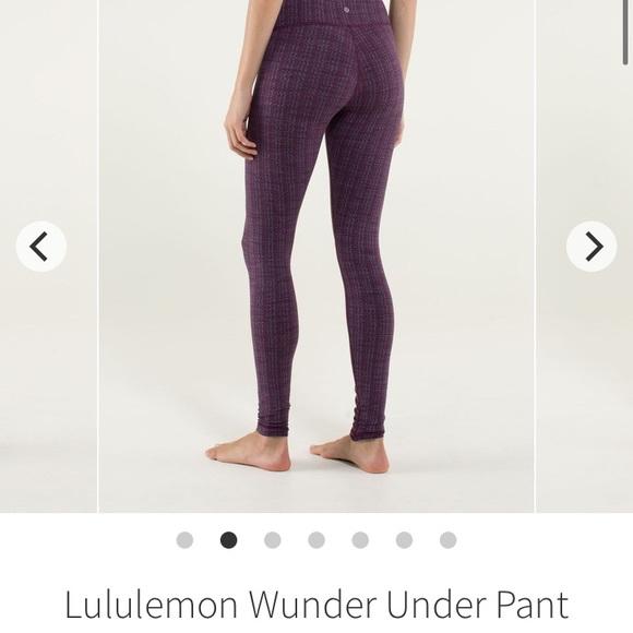 Lululemon Wunder Unders